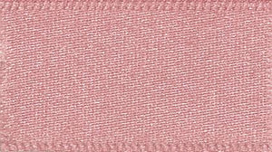 Double Faced Satin: 20m x 5mm: Dusky Pink