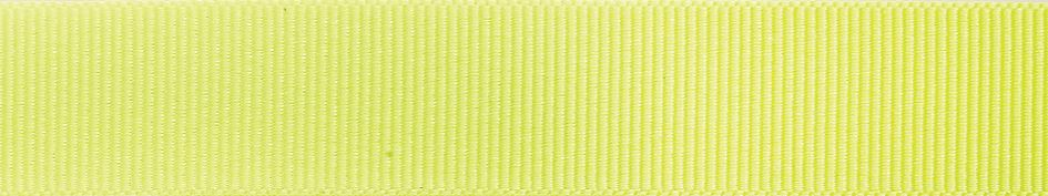 Grosgrain: 20m x 10mm: Fluorescent Yellow