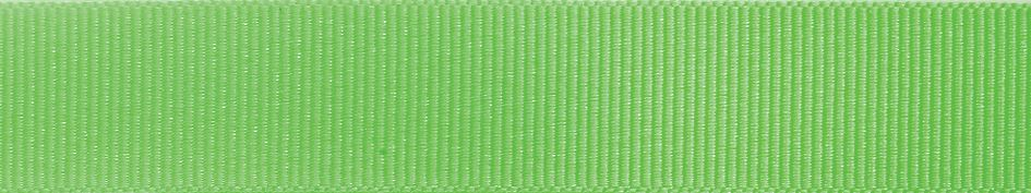 Grosgrain: 20m x 6mm: Fluorescent Green