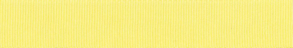 Grosgrain: 20m x 6mm: Lemon