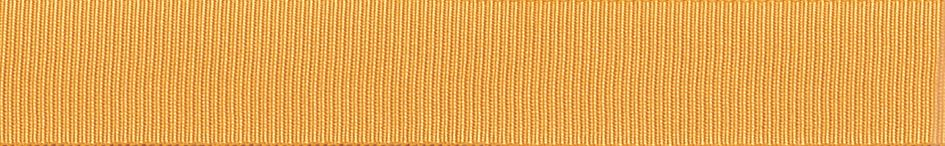 Grosgrain: 20m x 6mm: Gold