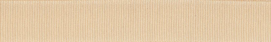 Grosgrain: 20m x 6mm: Cream