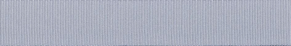 Grosgrain: 20m x 6mm: Grey