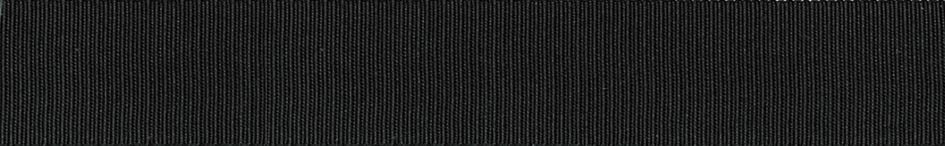 Grosgrain: 20m x 6mm: Black