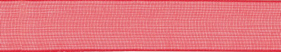 Super Sheer: 25m x 25mm: Red