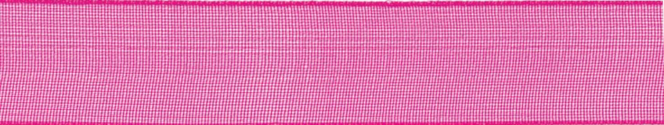 Super Sheer: 25m x 25mm: Shocking Pink