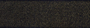 Glitter Satin: 20m x 10mm: Black