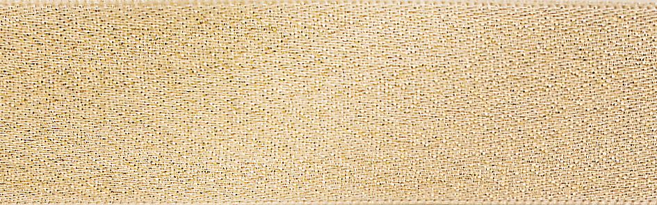 Glitter Satin: 20m x 10mm: Pearl