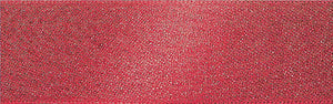 Glitter Satin: 20m x 15mm: Red