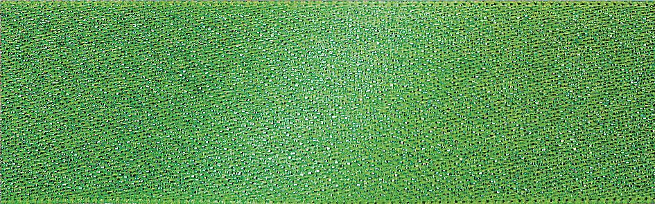 Glitter Satin: 20m x 15mm: Meadow