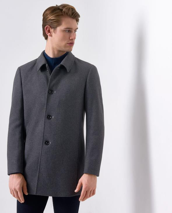 Marl Grey Coat