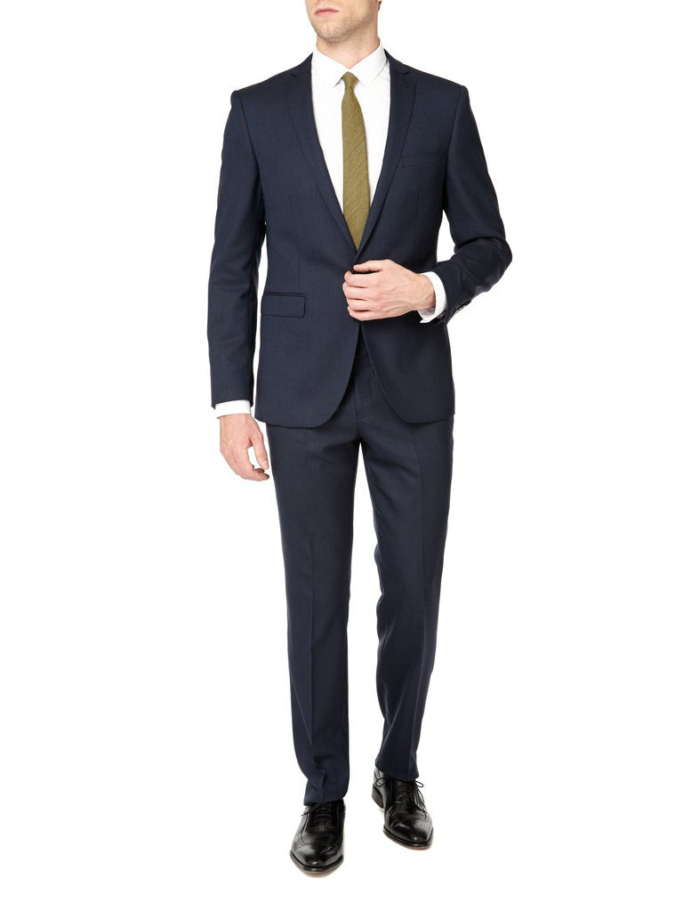 Navy Business Two Piece Suit