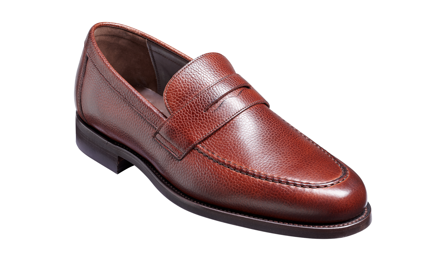 Barker Jevington Loafer - Cherry Grain