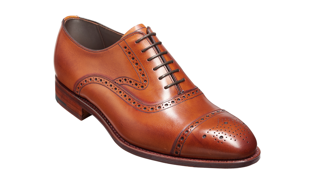 Barker Lerwick - Antique Rosewood Calf