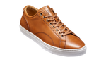 Barker Brown Calf Leather Trainer