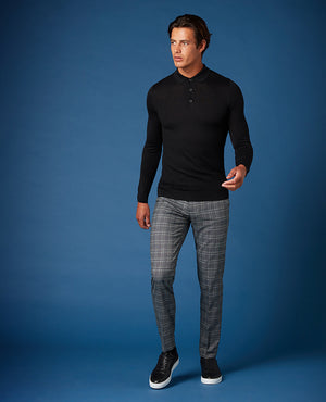 Slim Check Trouser