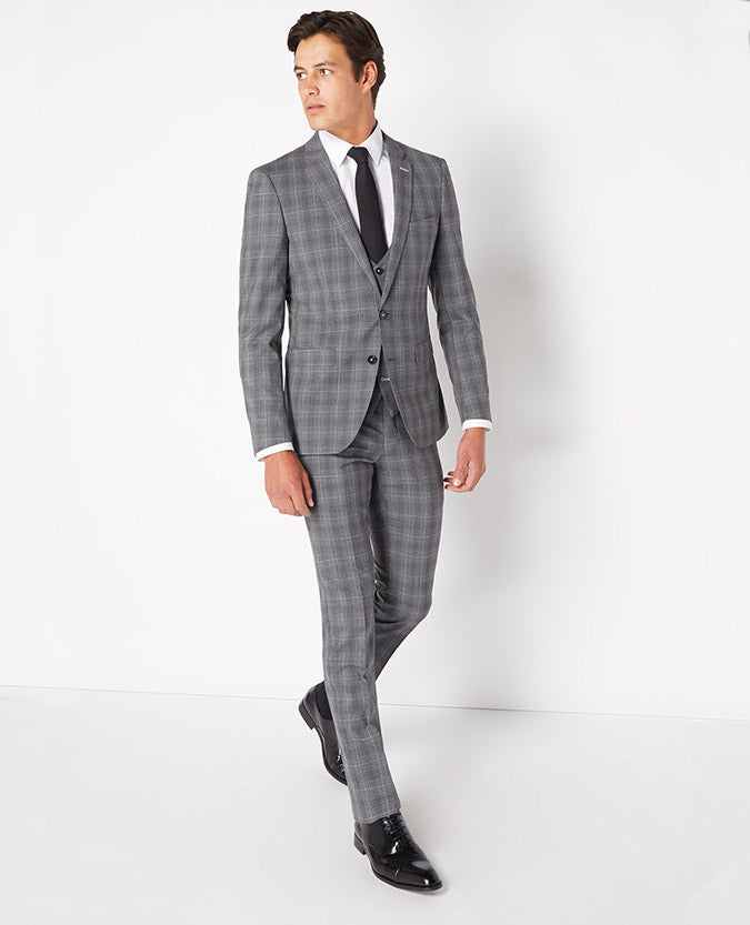 Remus Check Wool Suit