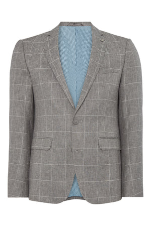 Grey Torino Check Jacket