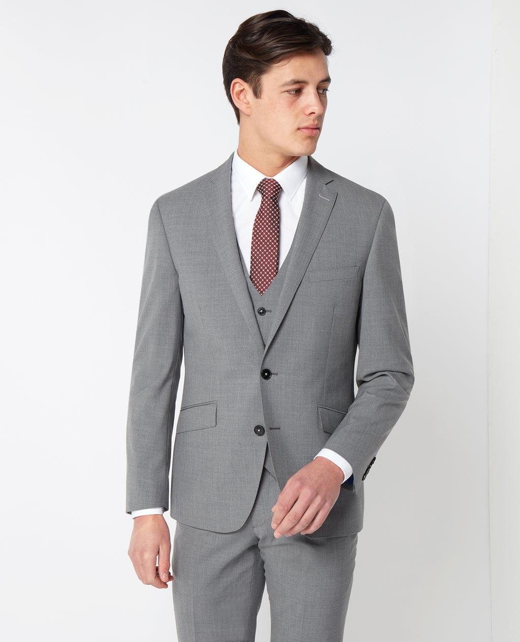 Remus Grey 3pc Suit