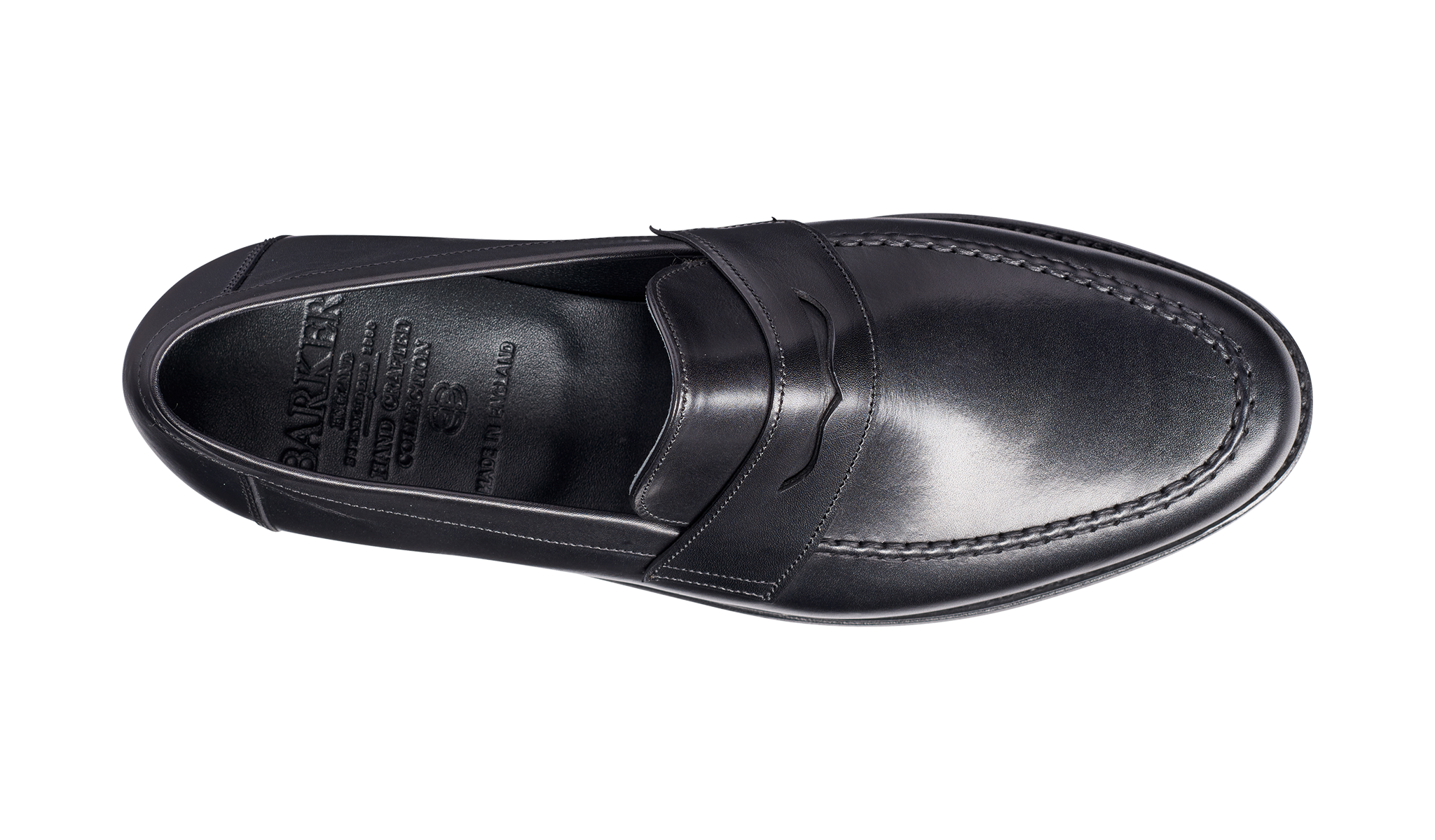 Barker Jevington Loafer - Black Calf