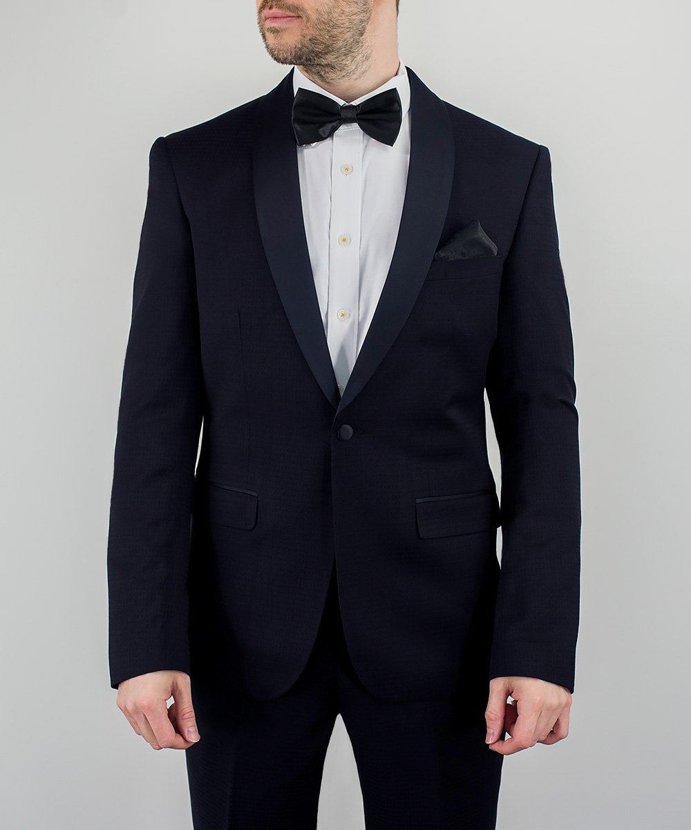 Navy Shawl Dinner Suit