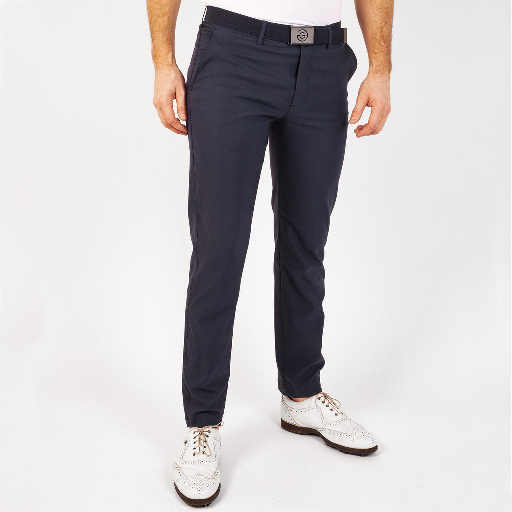 Noah Galvin Green Trousers - Navy