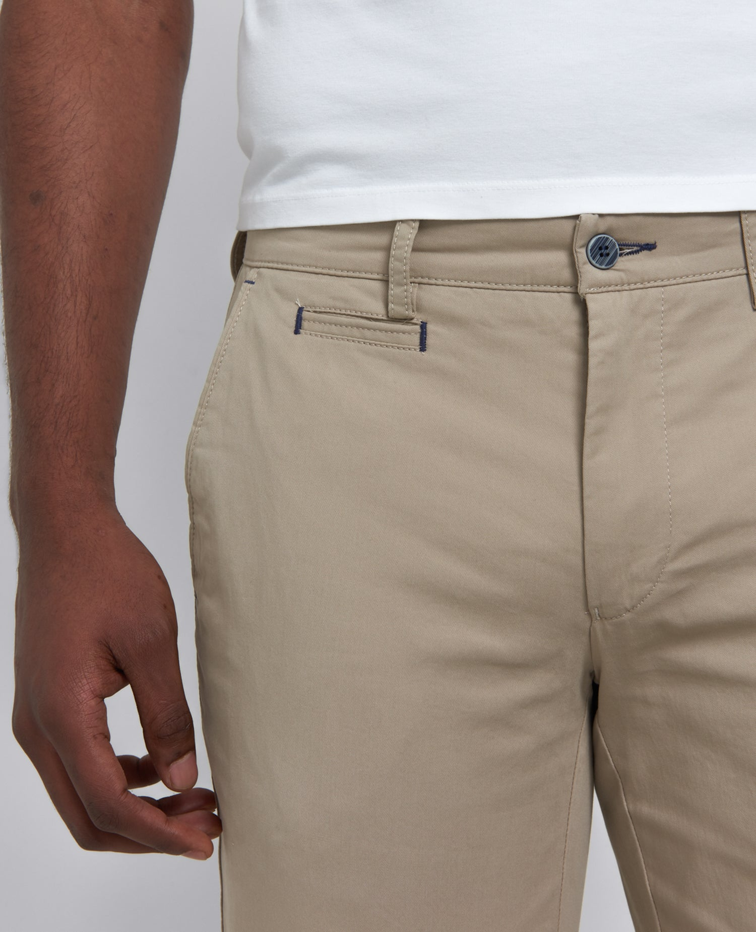 Remus slim leg cotton stretch chino
