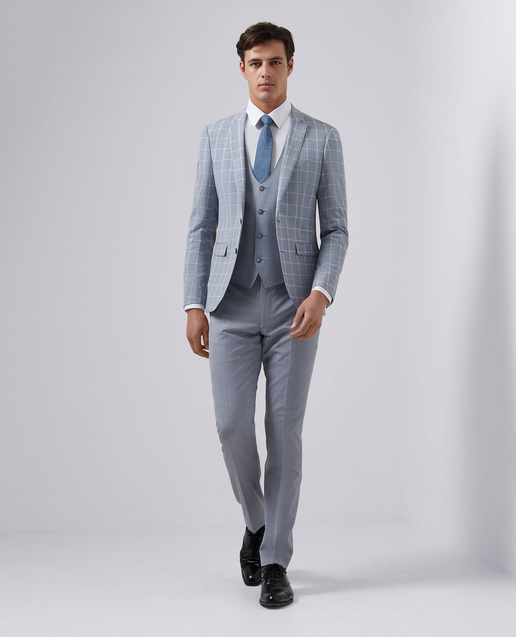 Remus Wool Blend 3Pc Suit