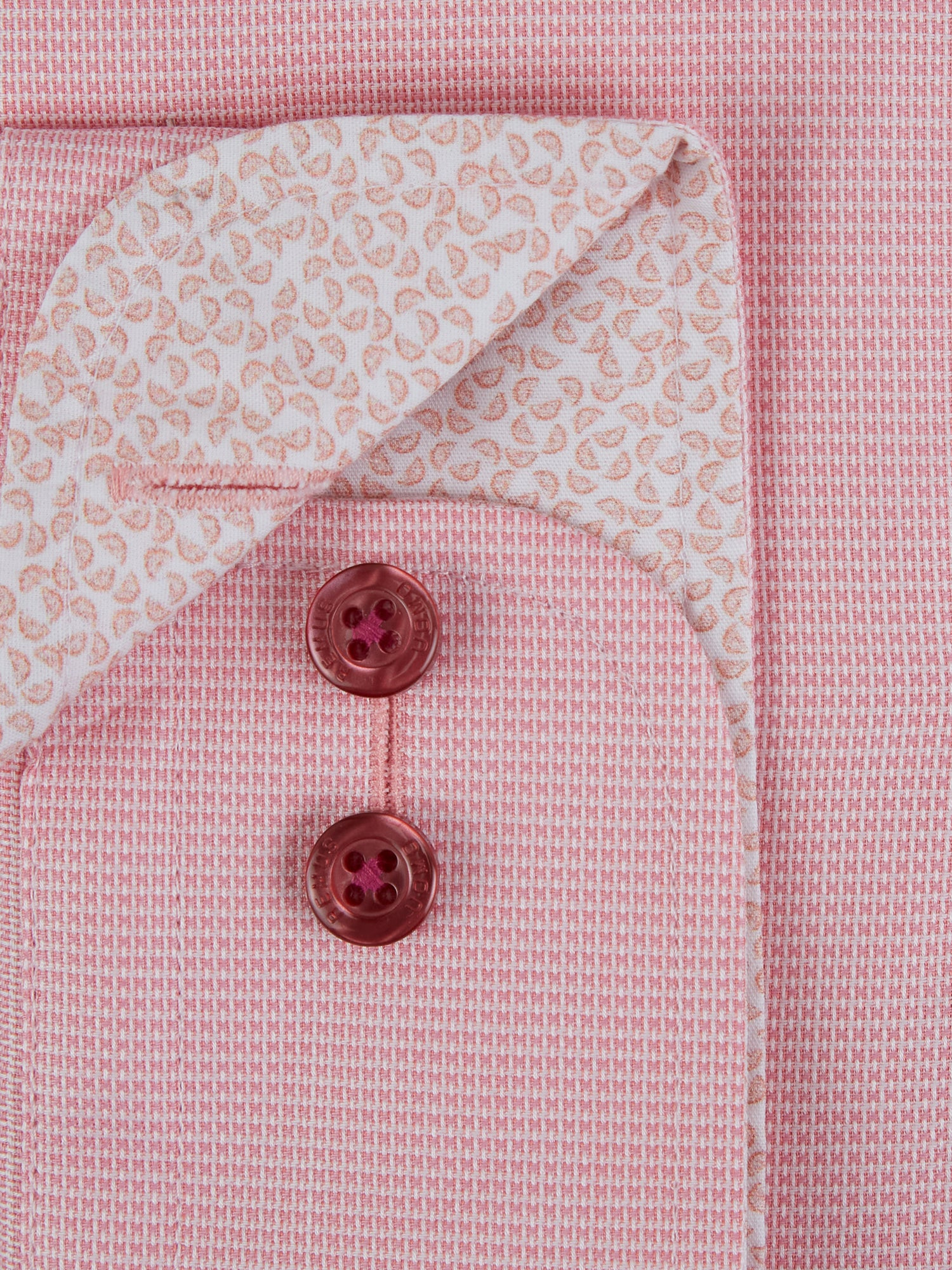 Micro-Check Cotton Shirt