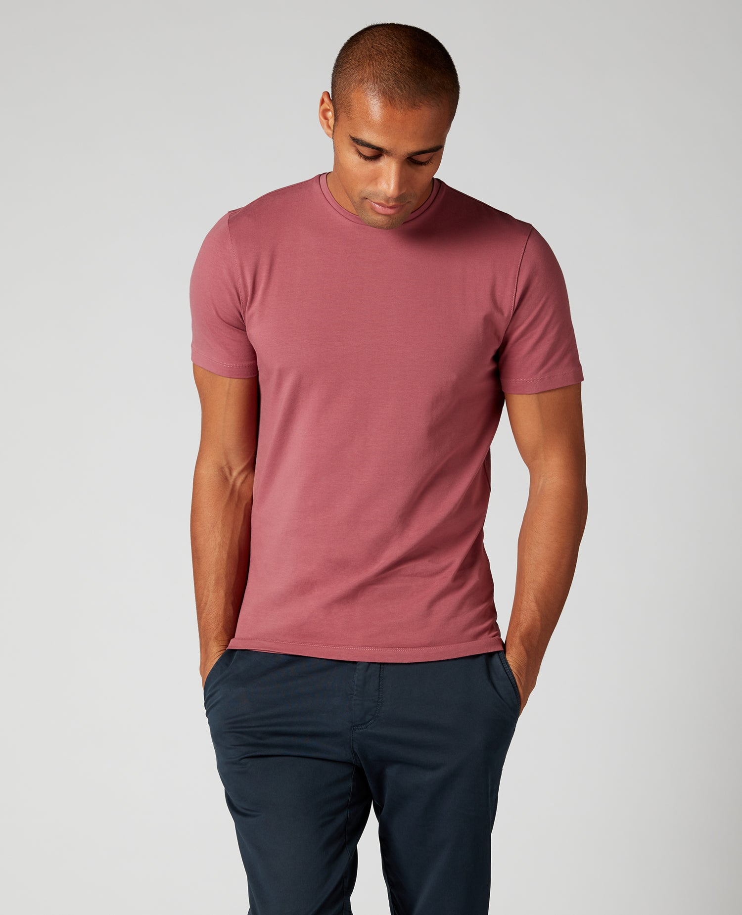 Remus cotton stretch t-shirt