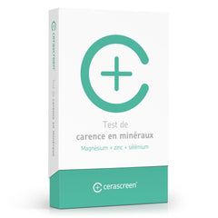 Test carence en mineraux