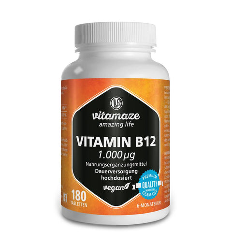 Vitamaze Vitamine B12 à fort dosage 1.000 µg