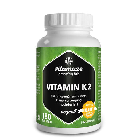 Vitamaze Vitamine K2 MK-7 à fort dosage 200 µg