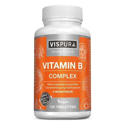 Vispura Complexe de vitamine B à dosage ultra-fort