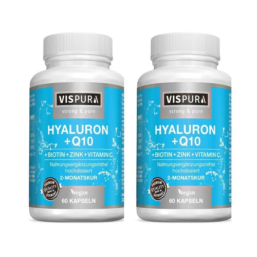 Vispura Acide Hyaluronique coenzyme Pack 2