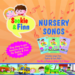 Sookie & Finn: Nursery Songs CD