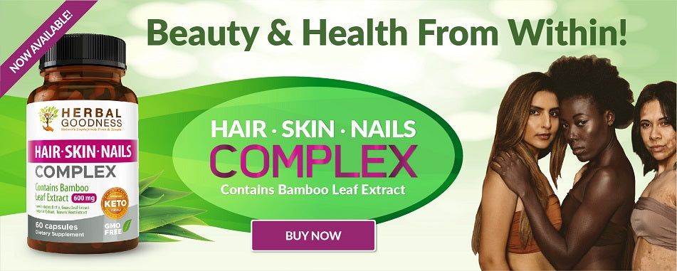 Hair Skin & Nails Complex - Bamboo Extract