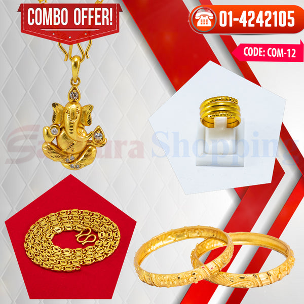 Ganesh Locket and Kangan COMBO OFFER 6 ☎ : 01-4242105 📞 9813782632