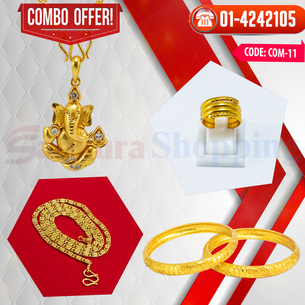 Ganesh Locket and Kangan COMBO OFFER 5 ☎ : 01-4242105 📞 9813782632