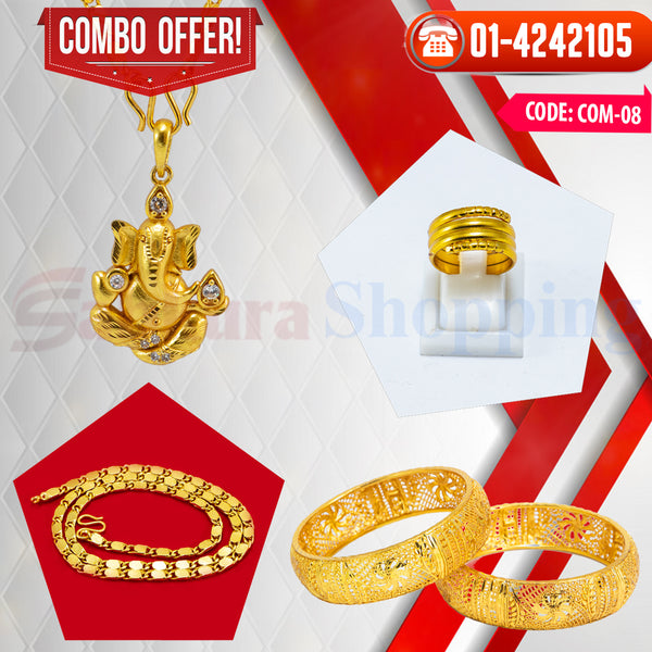 Ganesh Locket and Kangan COMBO OFFER 2 ☎ : 01-4242105 📞 9813782632