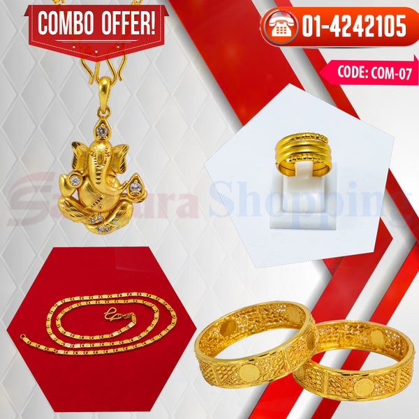 Ganesh Locket and Kangan COMBO OFFER 1 ☎ : 01-4242105 📞 9813782632
