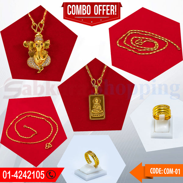 Ganesh Locket and Buddha Locket COMBO OFFER ☎ : 01-4242105 📞 9813782632