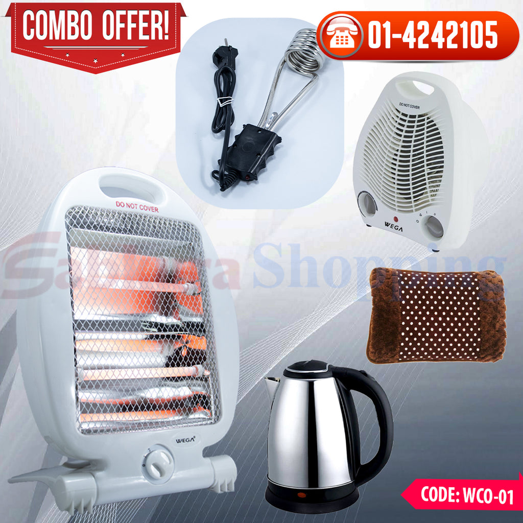 Winter Heater Combo ☎ 01-4242105