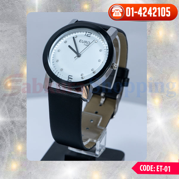 Euro Time Watch ☎ 01-4242105