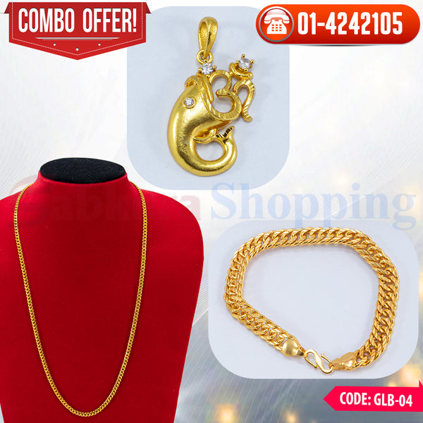 Ganesh Locket and Bracelet Combo 4 ☎ : 01-4242105 📞 9813782632