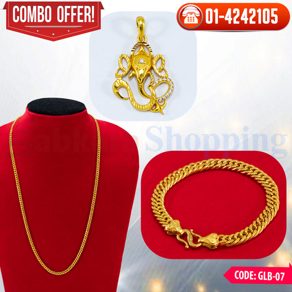 Ganesh Locket and Bracelet Combo 7 ☎ : 01-4242105 📞 9813782632