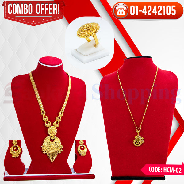Rani Har and ganesh Locket COMBO 2  ☎ 01-4242105, 📞 9813782632