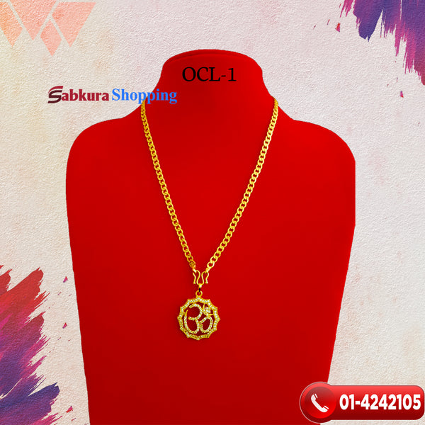 OM Locket Chain ☎ 01-4242105, 📞 9813782632