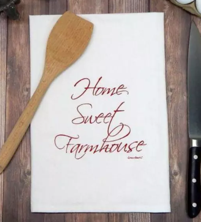 Home Sweet Farmhouse Dishtowel