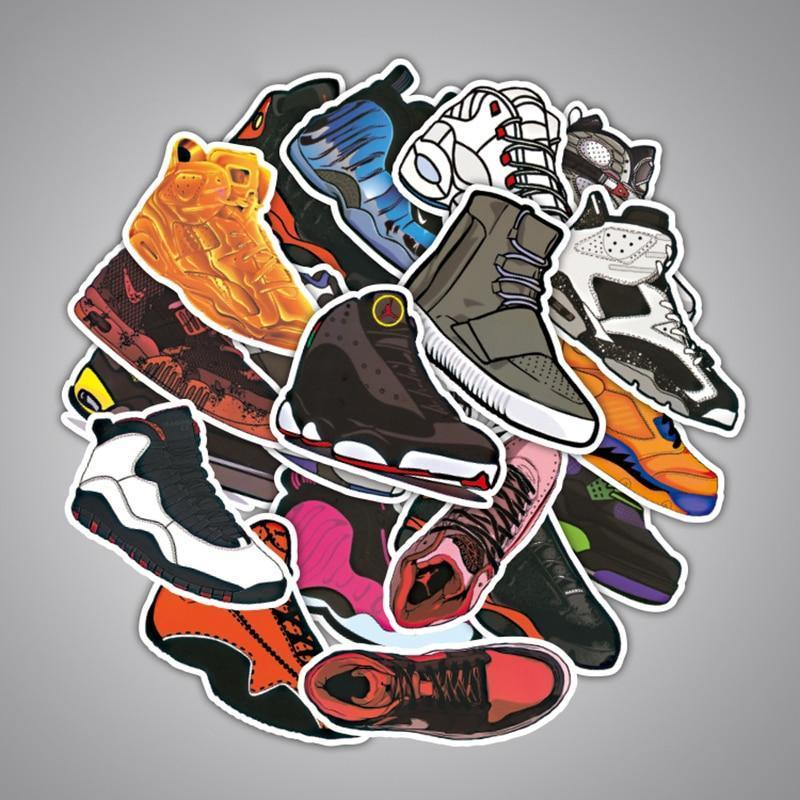 Sneaker Sticker pack of 100